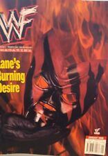 WWE Magazine October 2003 US WWF Wrestling + Wrestlemania 2 Poster