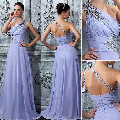 UK Formal Long Lace Women Prom Evening Party Bridesmaid Wedding Maxi Dress