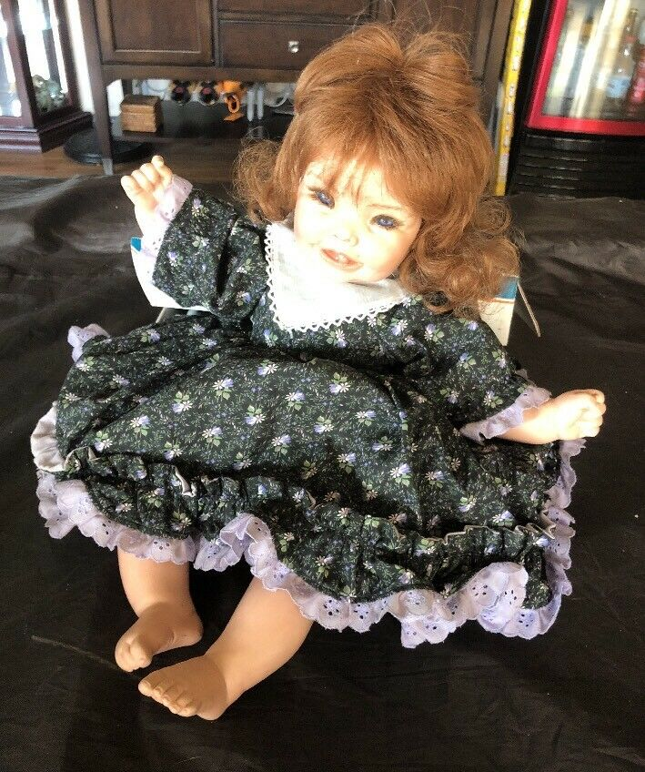 Cindy Marschner Rolfe Chubbins Reproduction Porcelain Doll