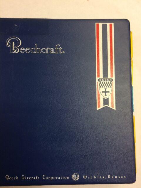 Beech Duke 60 A60  U0026 B60 Wiring Diagram Manual 1973