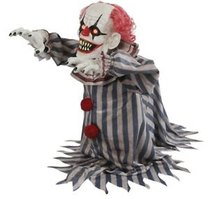 Jumping-Clown-Prop-Animated-Lunging-Haunted-House-Halloween-Decoration