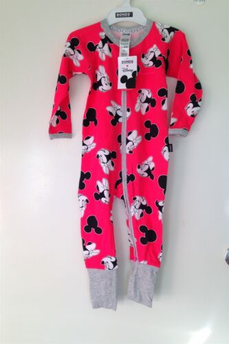 "E1 NWT BONDS Zippy Zip Wondersuit Disney Edition /""Minnie Confetti/"" Size 3"