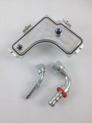 Ford Focus RS Mk2 Pro Alloy Oil Breather Housing Plate Kit LIDFFOCMK2