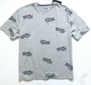 Tommy-Hilfiger-Men-039-s-Short-Sleeve-Graphic-T-Shirt