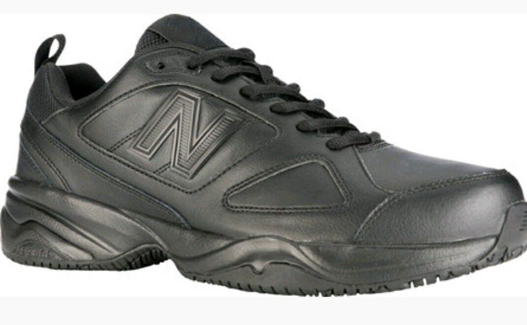 premium selection 0459b db866 Men's Balance New Black 4E 7 Sz Resistant Slip Certified ...