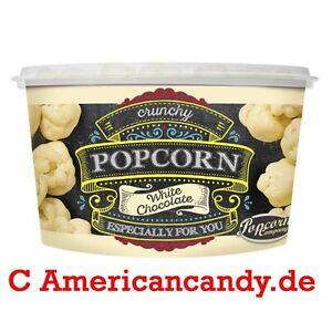 1000 G Premium White & Milk Chocolate Popcorn (8x 125g Mug) 2 Kinds 19,99/kg 4250221313229