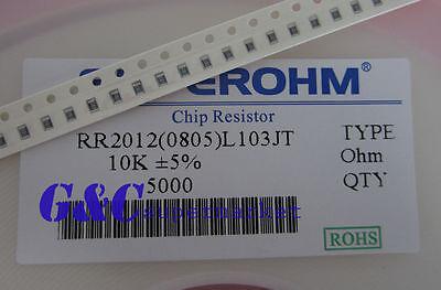100PCS Resistor 10k Ohm  0805 SMD RoHS NEW GOOD QUALITY