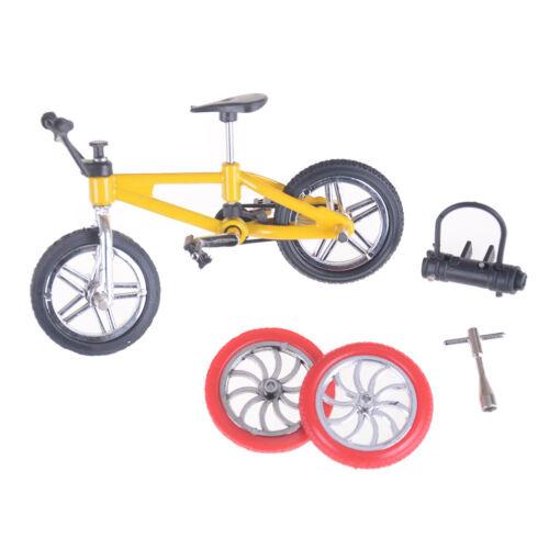 Mini Finger BMX Bicycle Flick Trix Finger Bikes Toys Novelty Gag Toy Kid Gift RS