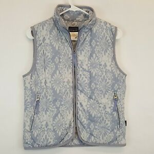 Patagonia-Floral-Print-Puffer-Insulated-Vest-Womens-Sz-Small-Nano-Air-Micro-Puff