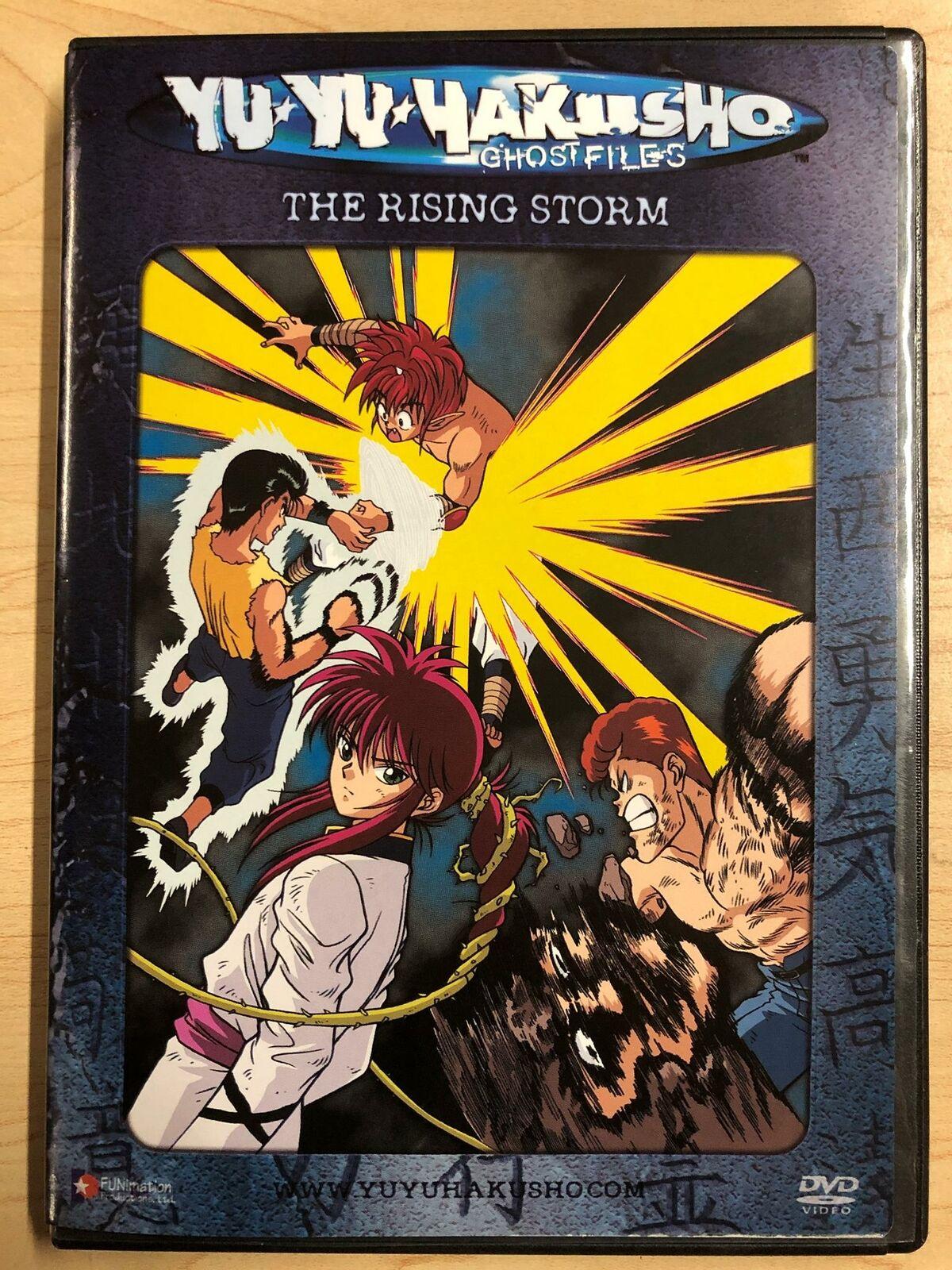 Yu Yu Hakusho Dark Tournament Saga Vol 12 The Rising Storm Dvd 2003 Unedited For Sale Online Ebay