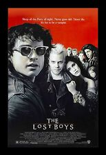 THE LOST BOYS  framed movie poster 11x17 Quality Wood Frame