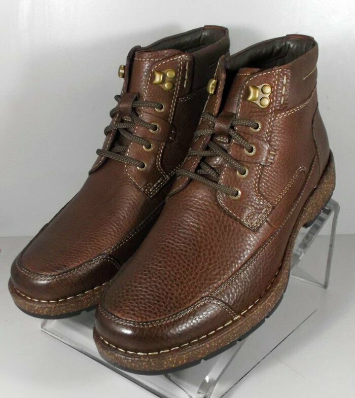 252856 ESBT 50 Chaussures Hommes Taille 11 M Marron Bottes en cuir Johnston & Murphy