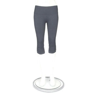 LULULEMON In The Flow Ruched Crop Leggings Cool Blue Yoga size 8 - INV 3323