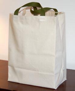 2 Pak Cotton Canvas Grocery Bag