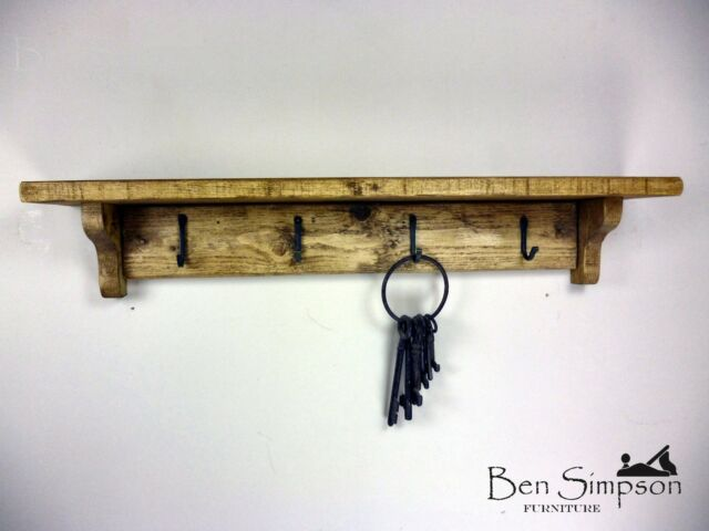 Rustic Wooden Coat Rack Coat Stand Clothes Rail Shelf Handmade Ben Beauteous Handmade Coat Rack