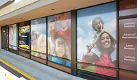 Custom Perforated Window Signs ( Free Design For You )