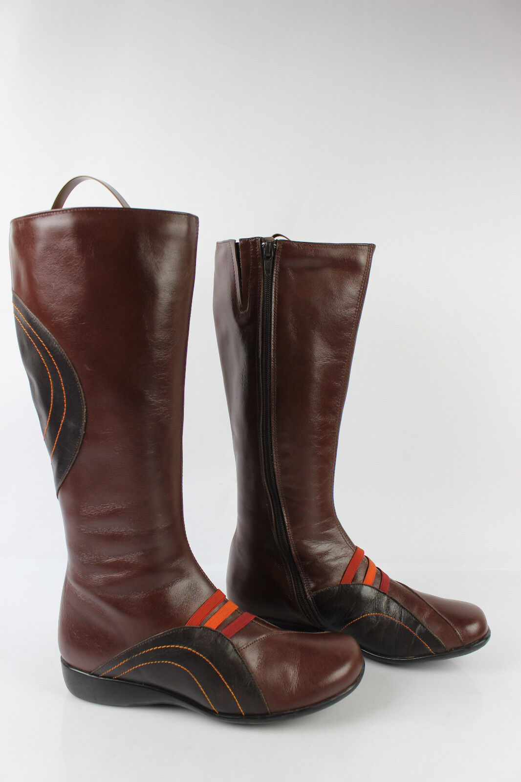 Boots MARETTI   Pomares Vasquez Brown Leather Chestnut T 36 VERY GOOD CONDITION