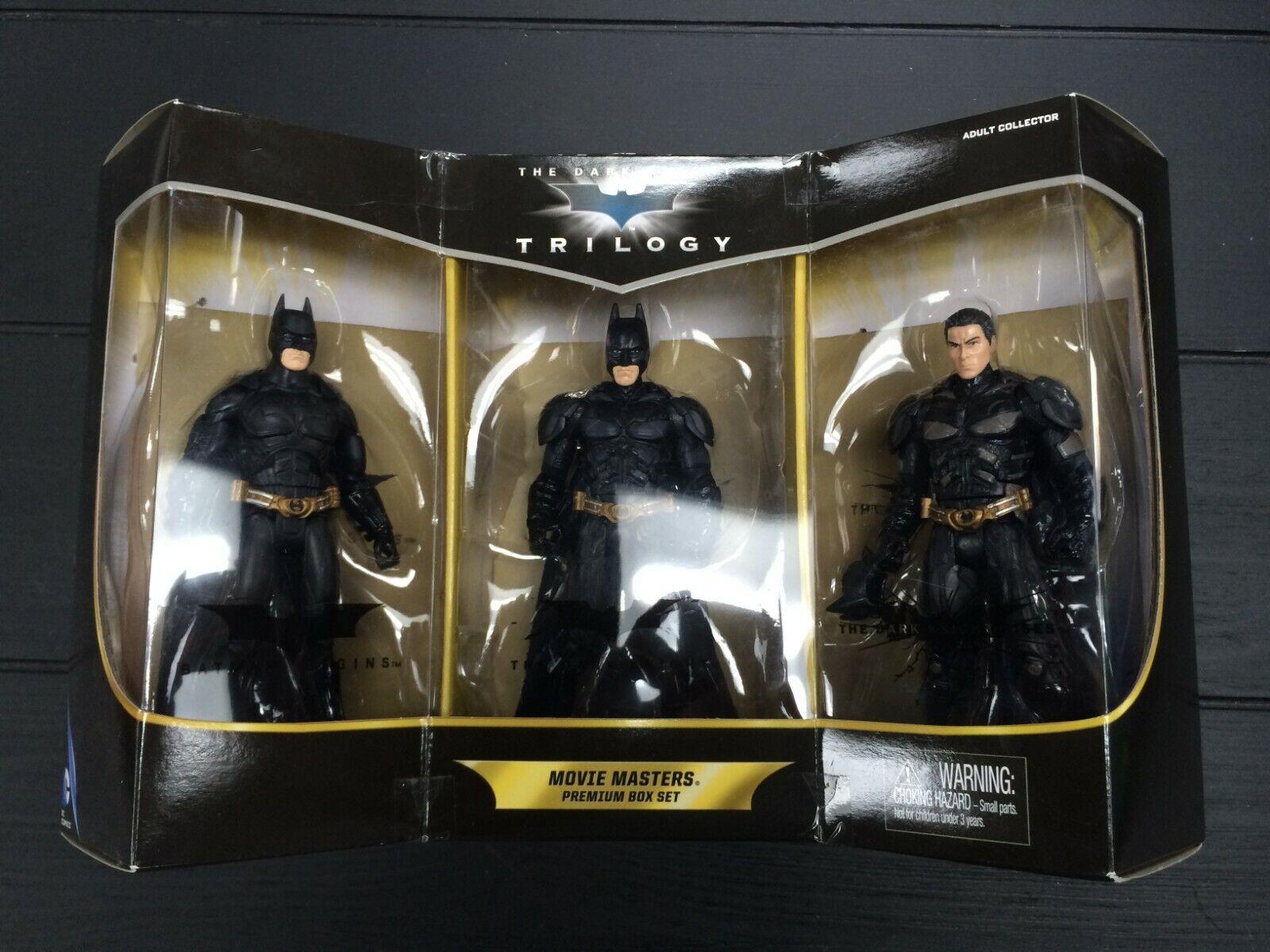 Batman Batman Batman the Dark Knight Trilogy Movie Masters Premium Box Set - 2013 - VGC Boxed f38b0e