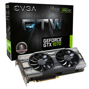 Evga-Geforce-GTX-1070-8GB-Ftw-Videojuego-Acx-3-0-Tarjeta-Grafica