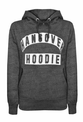 Ladies Hangover Hoodie Sweatshirt Size 8-14