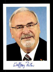 Hart Arbeitend Wolfgang Zöller Autogrammkarte Original Signiert ## Bc 99198 Politik Autogramme & Autographen