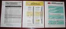 1968 69 70 71 72 73-77 ANCO Wiper Arms_Blades Specs Application Catalog 3vol SET