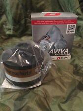 Scott Aviva 40mm Half Mask Respirator Optional Cf22 A2 P3 Filter Bio Gas Protect