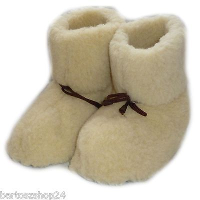 Cozy Foot, Women`s, Ladies Mens Pure Sheep Wool, Slipper Boots, Creame, Grey Duftendes (In) Aroma