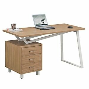 sturdy office desk. Image Is Loading Modern-Home-Office-Desk-Storage-3-Drawers-Computer- Sturdy Office Desk O