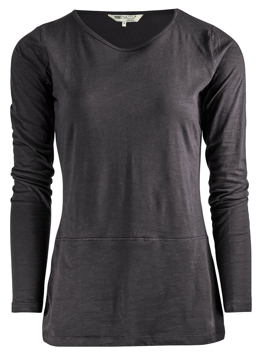 Yoga-shirt  get Down  - Soot Grau von Yogistar  | Gute Qualität