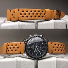 20 mm Yellow Leather RALLYE Strap armband bracelet cinturino vintage uhr montre