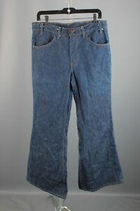 Vtg-Men-039-s-1970s-NOS-Deadstock-Levis-Bell-Bottom-Jeans-32-5x29-70s-Elephant-5996