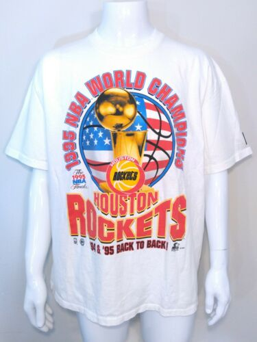 HOUSTON ROCKETS 1995 NBA Champions STARTER Vintage