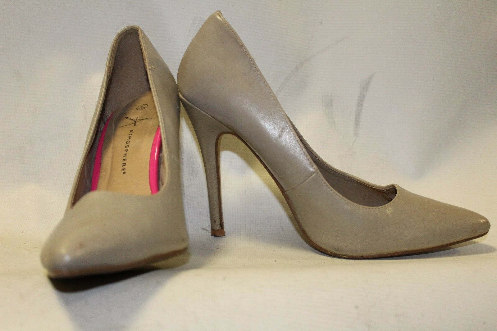 Moda jest prosta i niedroga Ladies Nude Brown Atmopshere Shoes Size 38 UK 5