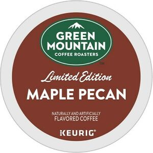 Green Mountain Maple Pecan Coffee 24 to 144 Keurig K cups Pick Any Quantity