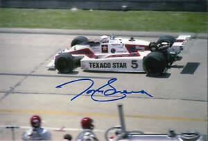 Tom Sneva Signed Indy 500 Indianapolis 8 X 10 Photo Autographed