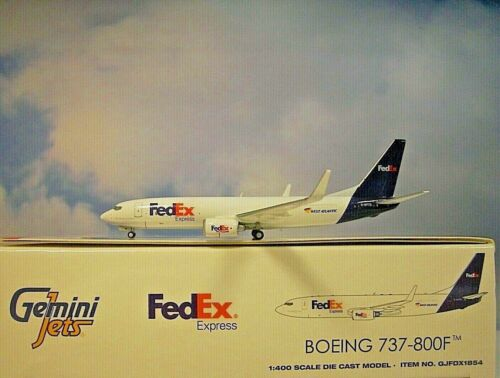 GeminiJets 1:400  Boeing 737-800F  FedEx  G-NTOD  GJFDX1854  Modellairport500