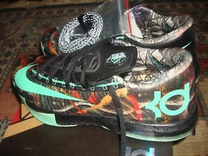 333ac9ffaea3 Brand New Deadstock Nike KD Kevin Durant 6 VI All Star Gumbo Size 10 ...