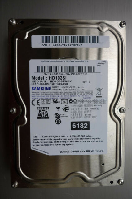 SAMSUNG HD103SI DRIVER FOR WINDOWS 7