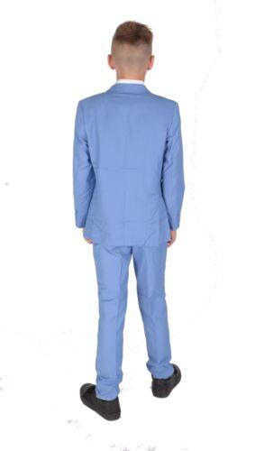 Costume Garçon 5 Pièce Bleu Clair Mariage Costume Page Garçon Âge 2 Pour 15 Ans