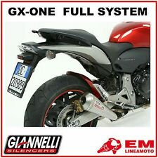 Scarico Completo Marmitta Giannelli GX-ONE Honda Hornet 600 '07/'12 - 73402GXK