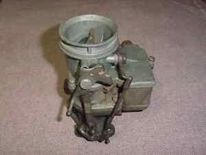 36 40 51 Ford Stromberg 48 carburetor carb rat rod SCTA 1938 1951 TROG Mercury