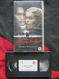 SLEEPY HOLLOW VHS VIDEO EAN 5011531898658 Tim Burton DeppRicciLeeGough - Melton Mowbray, Leicestershire, United Kingdom - SLEEPY HOLLOW VHS VIDEO EAN 5011531898658 Tim Burton DeppRicciLeeGough - Melton Mowbray, Leicestershire, United Kingdom