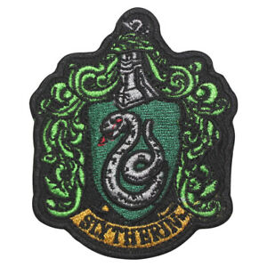 Harry Potter Slytherin logo Patch Iron On Patch Sew On Badge Embroidered Patch