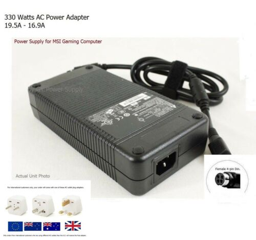 AC Adapter - 330W Charger for MSI GT80-2QE-014AU Gaming Laptop