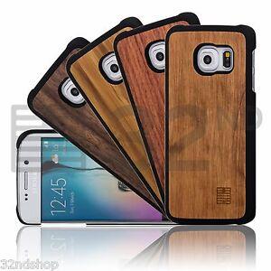 32nd-ultra-fino-madera-Funda-Parte-Trasera-para-Samsung-Galaxy-Telefono-REAL