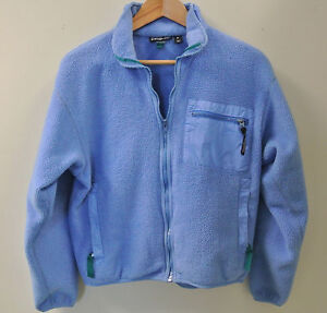 06ecc272a51 Vintage 1990 s Patagonia Synchilla Women s Blue Fleece Full-Zip ...