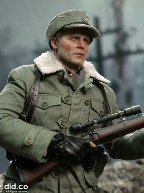 "DID 1//6 Scale 12/"" WWII German Army Supply Duty Hans Version B Figure D80109SB"