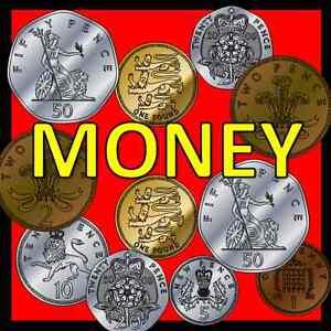 money teaching resources on cd maths numeracy ks1 eyfs sen primary coins ebay. Black Bedroom Furniture Sets. Home Design Ideas
