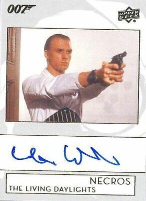 James Bond Collection 2019 Autograph Card A-WI Andreas Wisniewski as Necros